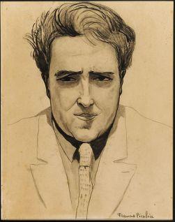Picabia Francis (François Martinez Picabia, dit), Autoportrait, 1923, © ADAGP, Paris 2013