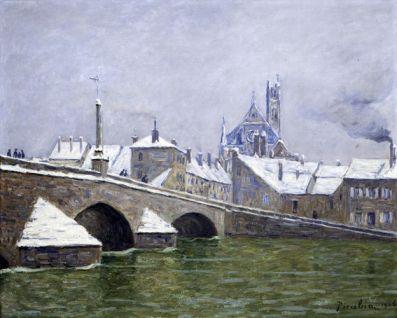 Picabia Francis (François Martinez Picabia, dit), Le Pont de Villeneuve-sur-Yonne, 1906 © ADAGP, Paris 2013