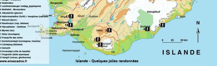 Carte Islande TomTom