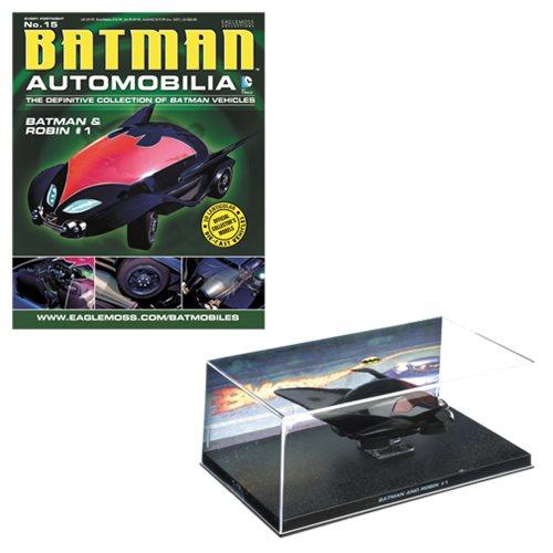 Batman Robin #1 Comic Batmobile and Collector Magazine