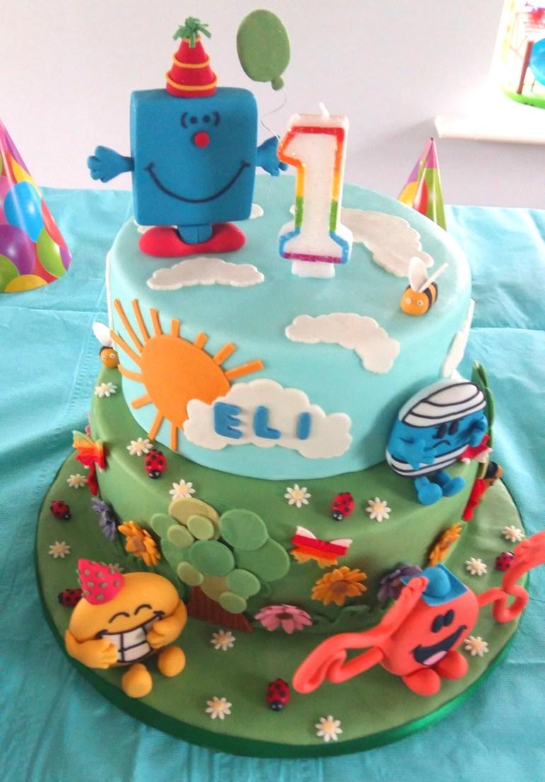 Mr Men Birthday Party - cake