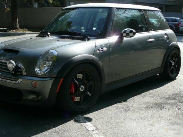 Track-ready Mini Cooper S – 220whp and Clean