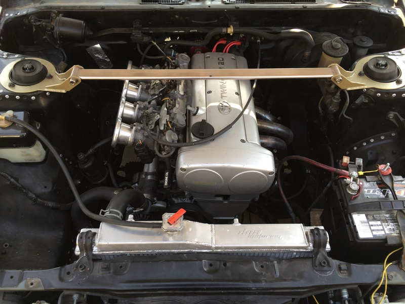 Toyota AE86 GT-S with 20v Silvertop