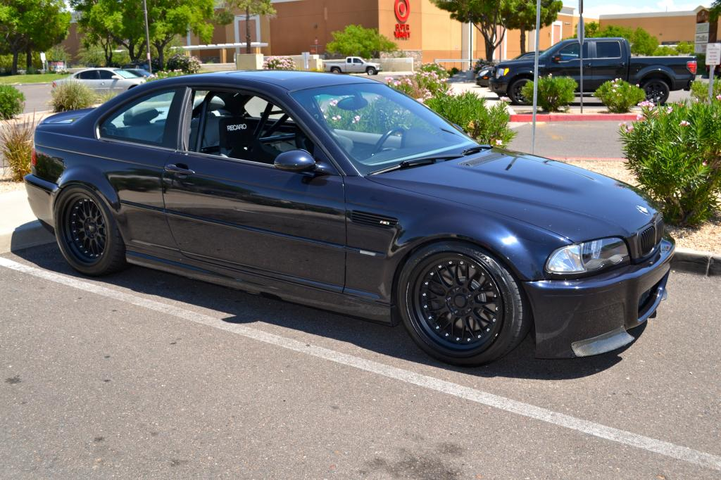 Supercharged E46 M3 – ESS Tuning, KW Coil-overs – For Sale