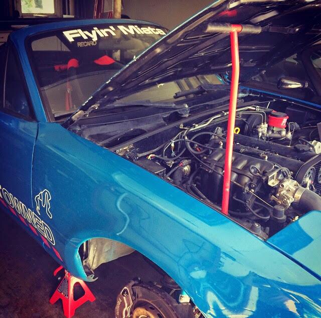 Track Miata Build: Part 3 – Brakes, Spark, Looks