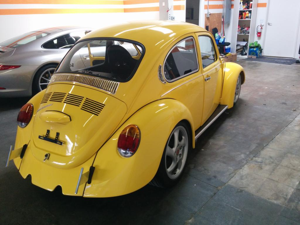 Awesome 1973 Restomod Turbo Beetle For Sale