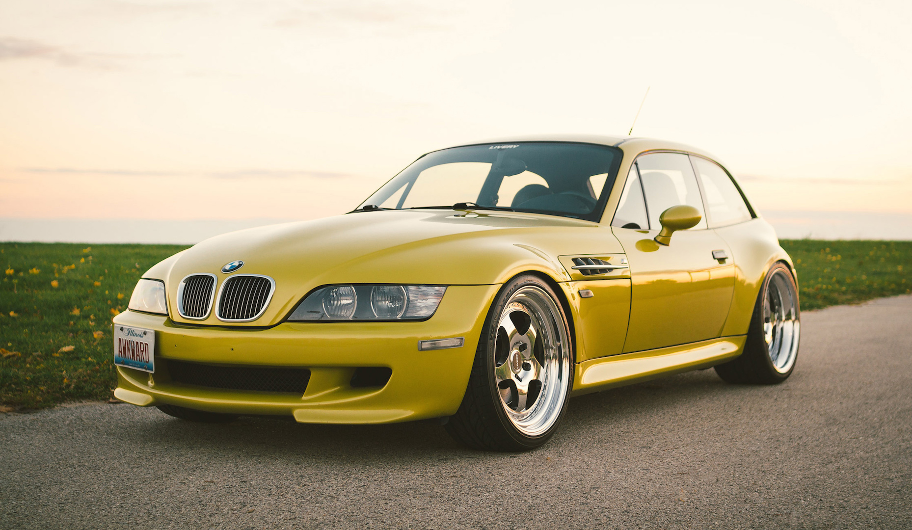 Phoenix Yellow Z3M S54 Coupe – Tasteful Mods and Solid Maintenance
