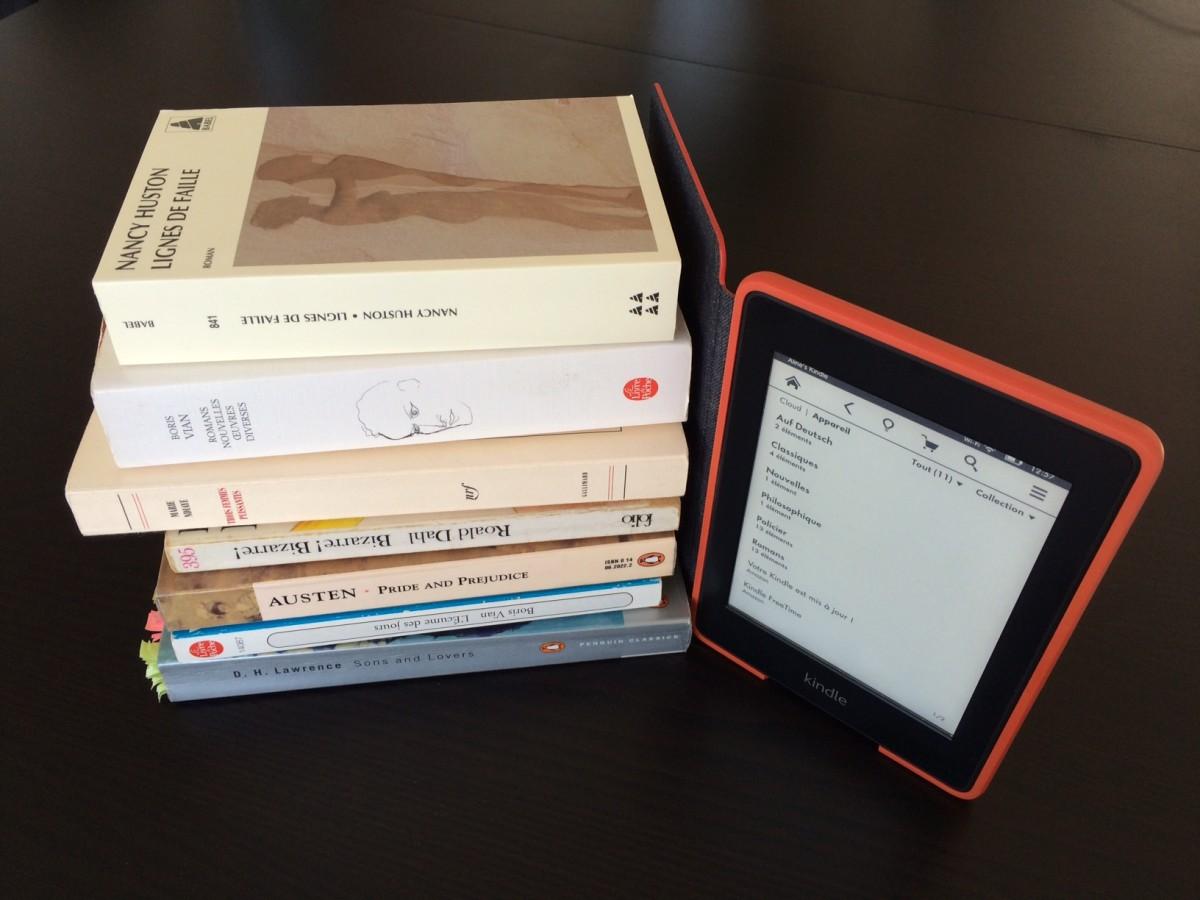Livre imprimé vs E-book
