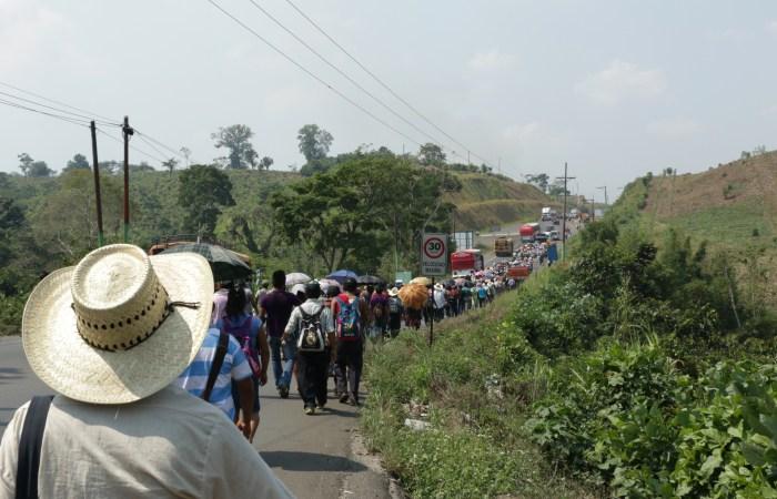 La marcha por el agua – Guatemala 2016
