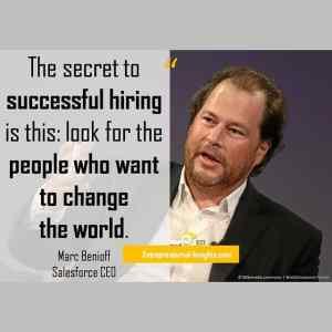 #MarcBenioff #Salesforce #entrepreneur #quote #startupquote #inspirarionalquote #entrepreneurial_insights