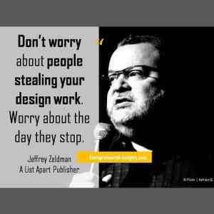 #startupquote #JeffreyZeldman #quote
