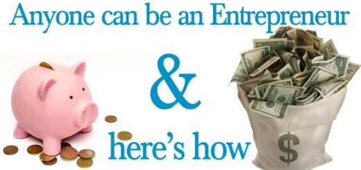 anyone can be an entrepreneur