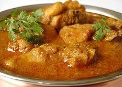 Pollo al estilo Indio (Platillo tipico de Bombay)