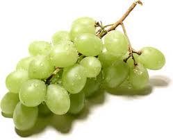 Uvas en almibar para nochevieja