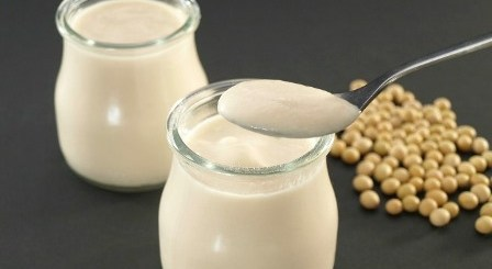Yogur soja casero