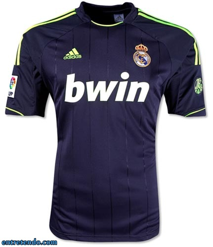 As fotos das novas camisas do Barcelona e do Real Madrid modelo 2012/2013