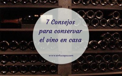 7 consejos para guardar el vino en casa