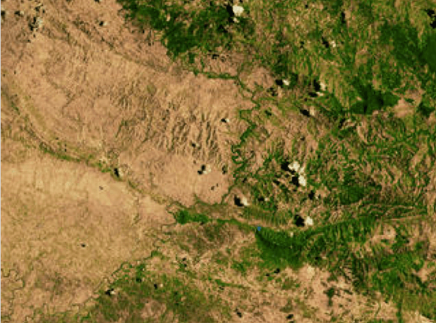 This is a very famous image of the border between Haiti and the Dominican Republic. It's often used to demonstrate how badly off Haiti is relative to their neighbors. What you seldom here about this image is that what you're actually seeing is the environmental scars of a very different post colonial history. In 1804 when Haiti won their independence from France, they set an example that intimidated slave-holding nations across the globe.