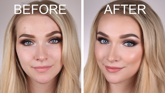 before and after blush beauty mistakes enza essentials beauty blog blogger bblogger beautiful