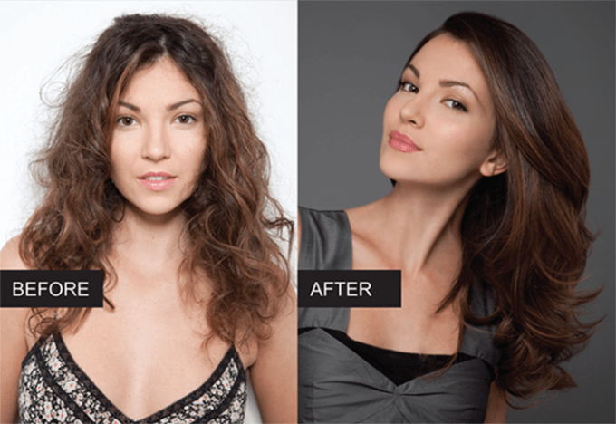 hair gloss before and after beauty mistakes enza essentials beauty blog blogger bblogger beautiful