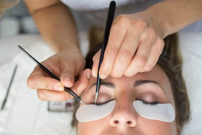 eyelash extensions after enza beautiful beauty essentials bblogger blogger