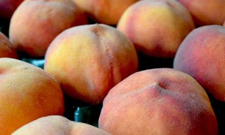 Organic Peach Cobbler