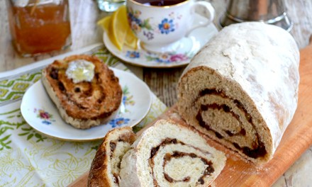 European Cinnamon, Honey & Raisin Bread