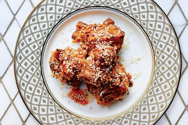 Pickle-Brined Fried Chicken recipe