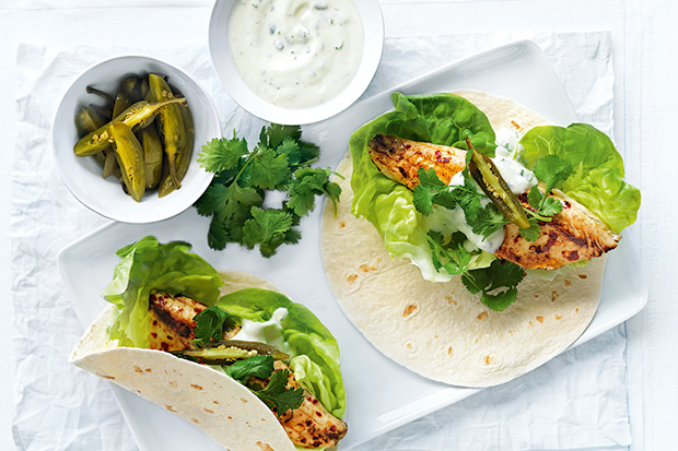 Lime And Chilli Fish Tacos recipe