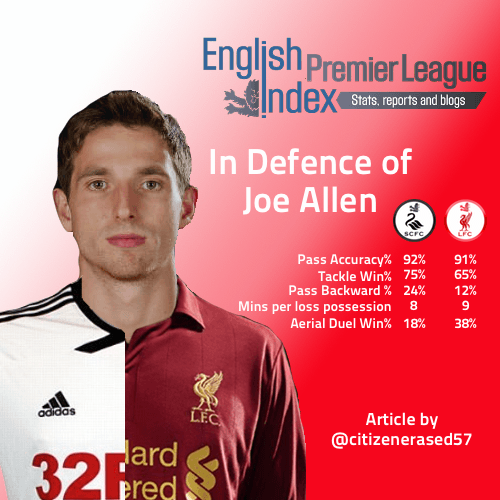 Defence of Joe Allen