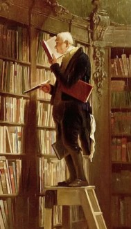 Bookworm, by Spitzweg