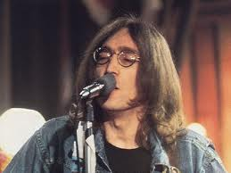 Lennon singing