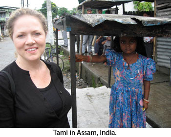 Tami in India