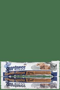 das gesunde plus-Eiweiss-Riegel-Cookies and Cream