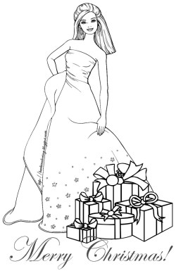 Small Of Christmas Tree Coloring Page