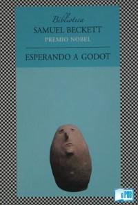 Esperando a Godot - Samuel Beckett portada