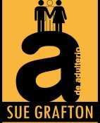 A de adulterio - Sue Grafton portada