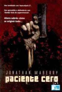 Paciente cero - Jonathan Maberry portada