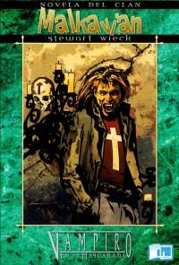 Novela del Clan Malkavian - Stewart Wieck portada