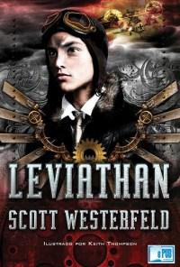 Leviathan - Scott Westerfeld portada