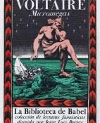 Micromegas - Voltaire portada