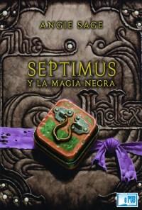 Septimus y la magia negra - Angie Sage portada