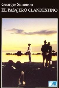 El pasajero clandestino - Georges Simenon portada