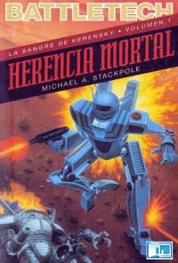 Herencia mortal - Michael A. Stackpole portada