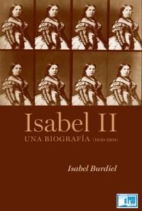 Isabel II - Isabel Burdiel portada