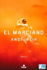 El marciano - Andy Weir portada