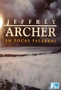 En pocas palabras - Jeffrey Archer portada