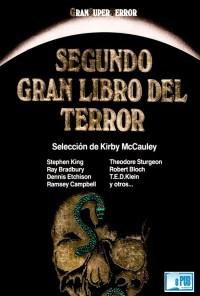 Segundo gran libro del terror - VVAA portada