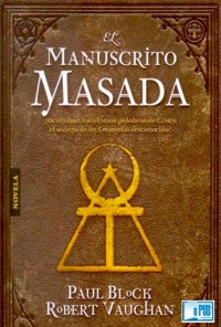 El manuscrito masada - Paul Block y Robert Vaughan portada