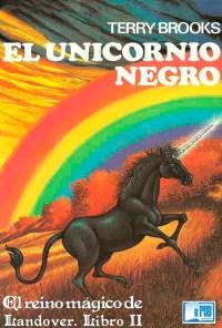 El unicornio negro - Terry Brooks portada